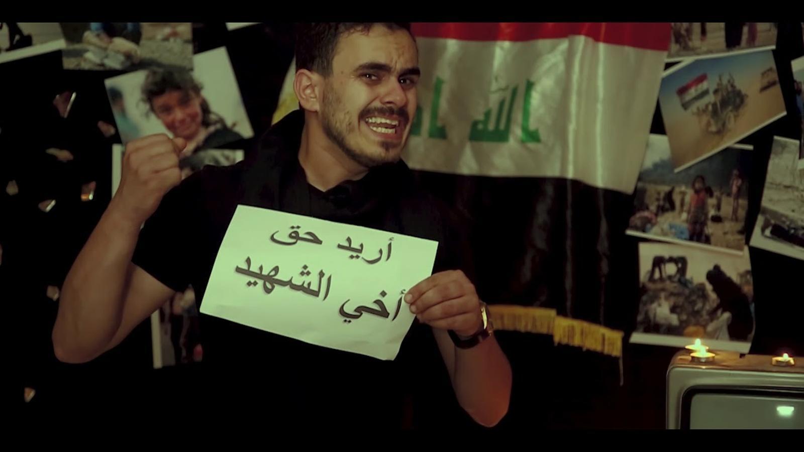 La versió iraquiana del 'Bella Ciao' que s'ha convertit en un himne de les protestes.
