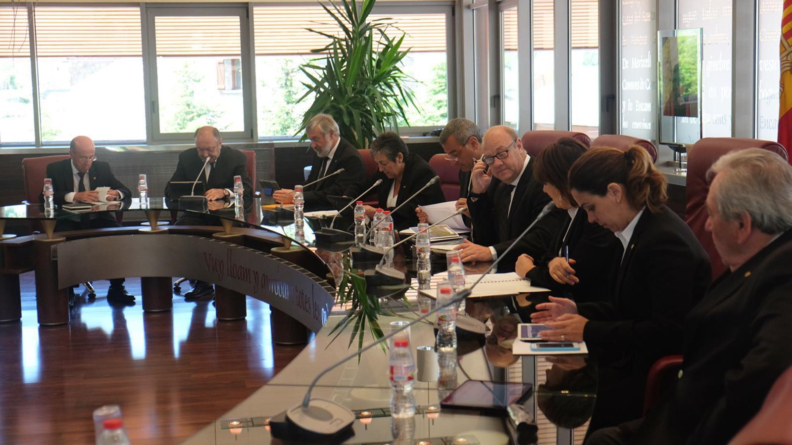 Sessió de Consell de Comú de Canillo / M.T. (ANA)