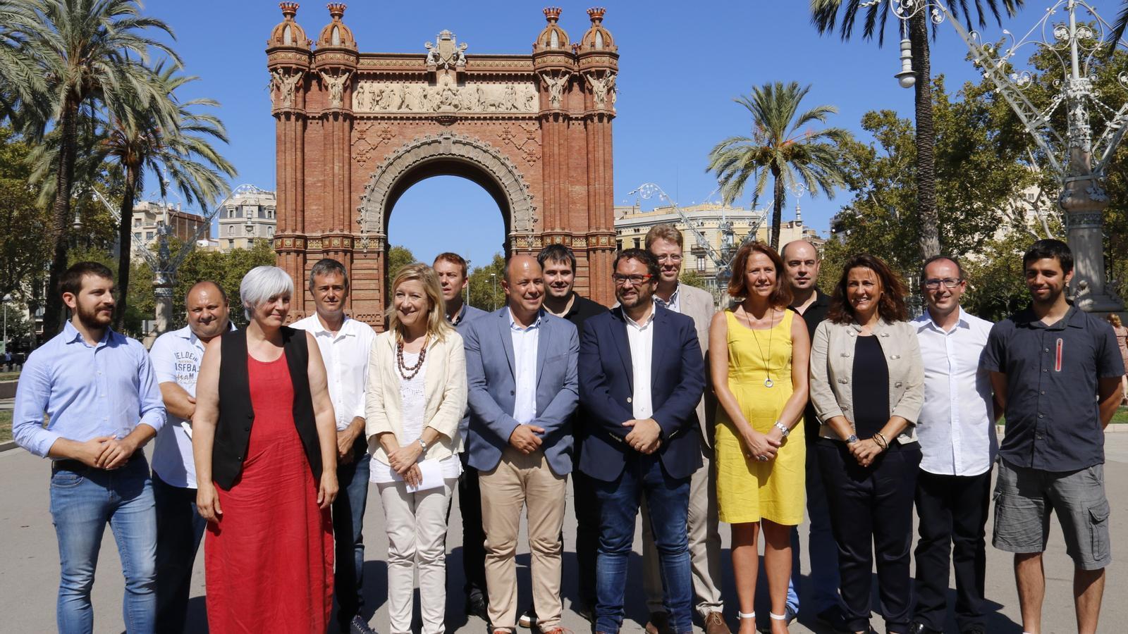Una vintena d'alcaldes criden a participar en la Diada des de la unitat del sobiranisme i sense exclusions