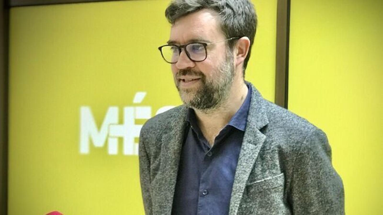 El coordinador de MÉS, Antoni Noguera. / MÉS
