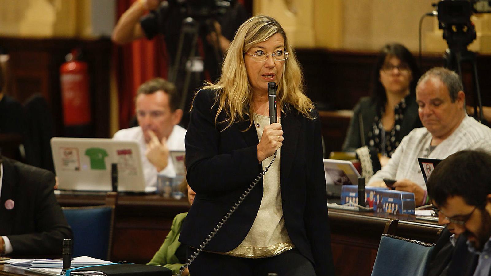 La Conselleria de Salut, amb Patrícia Gómez al capdavant, ha fet un informe favorable per continuar cedint un local públic a l'Acadèmi de sa Llengo Baléà.