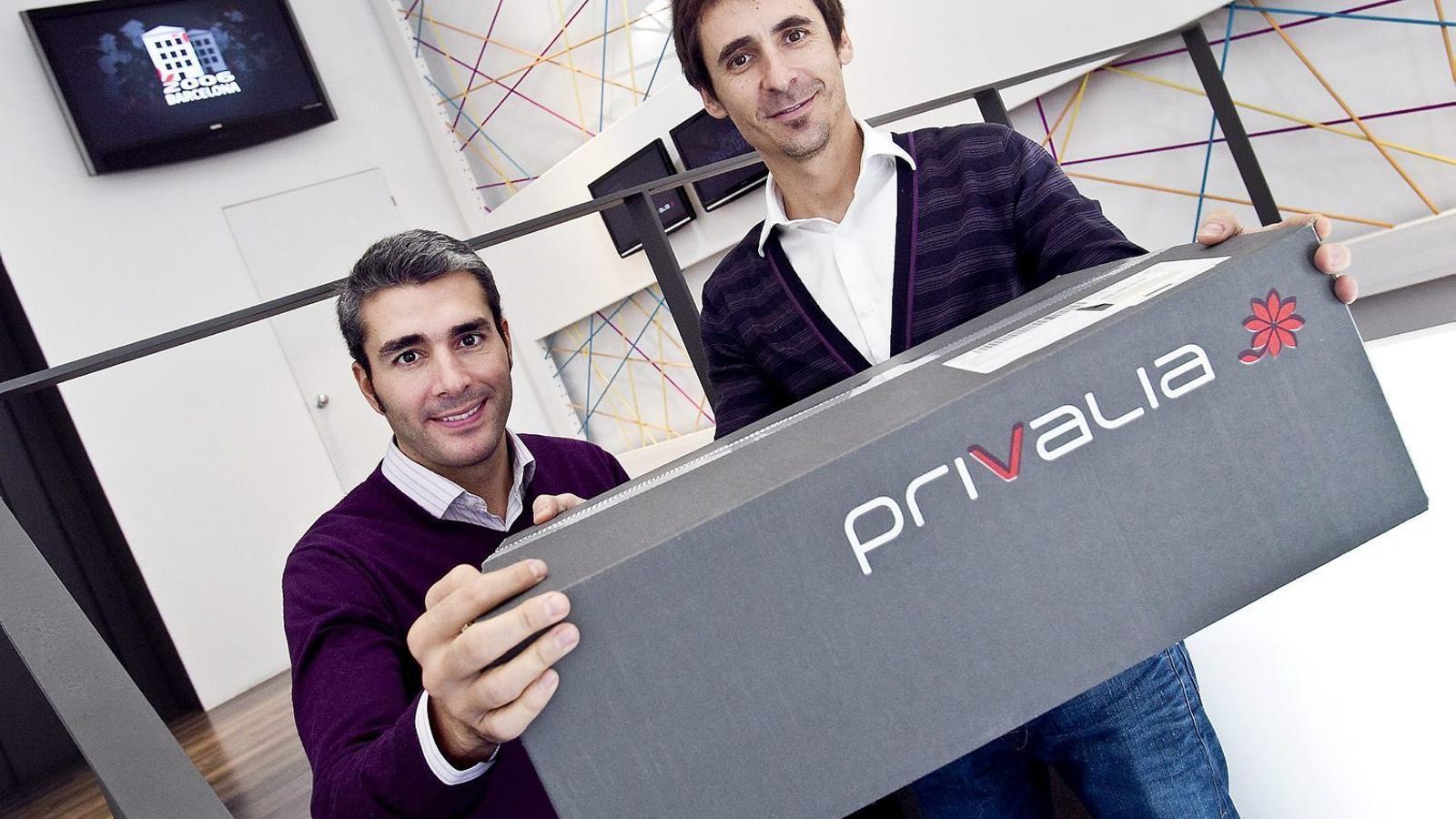 José Manuel Villanueva i Lucas Carné, fundadors de Privalia