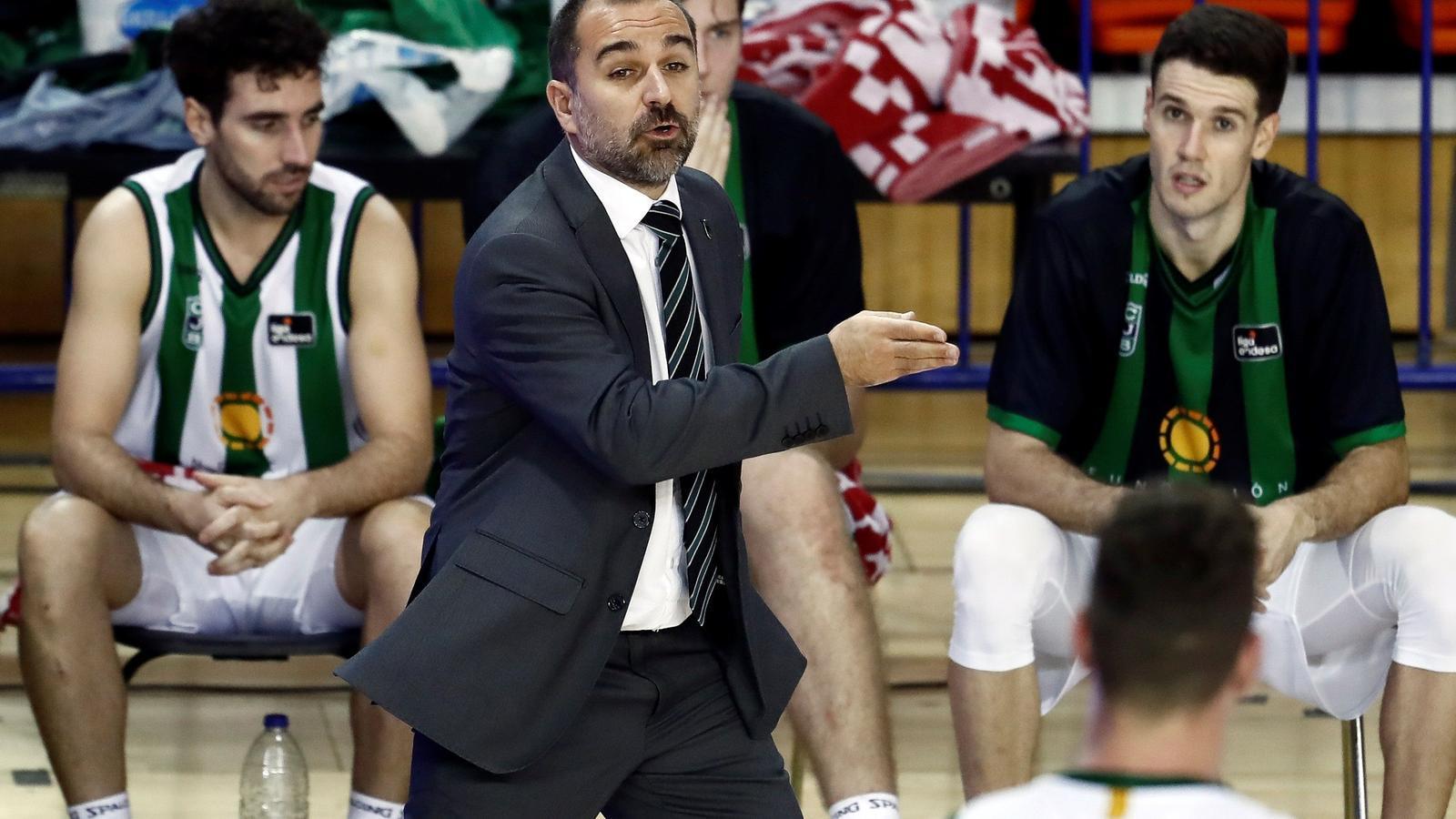 Carles Duran, a Fuenlabrada