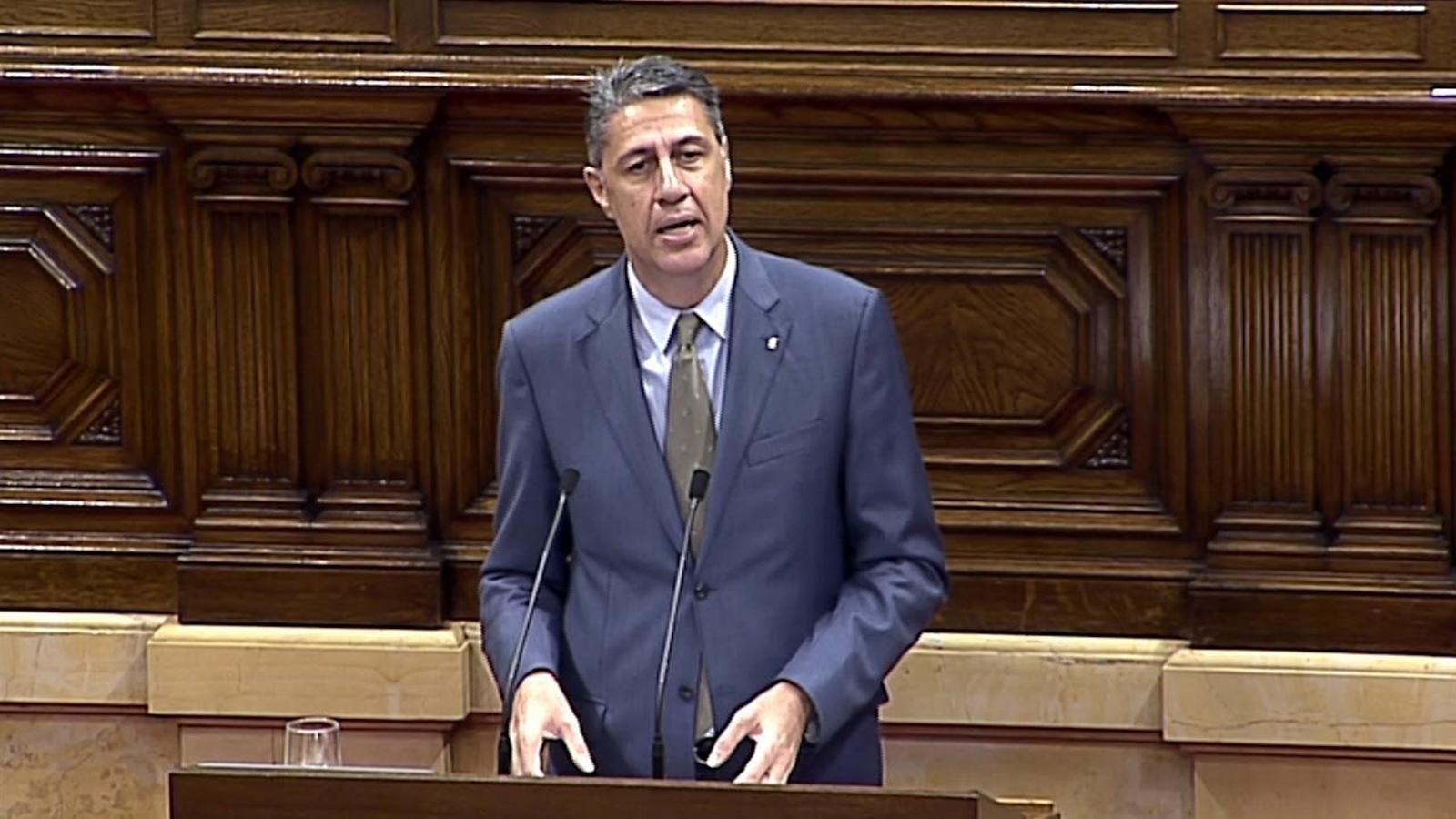 Albiol avisa que la història no jutjarà els independentistes, sinó que ho farà un tribunal