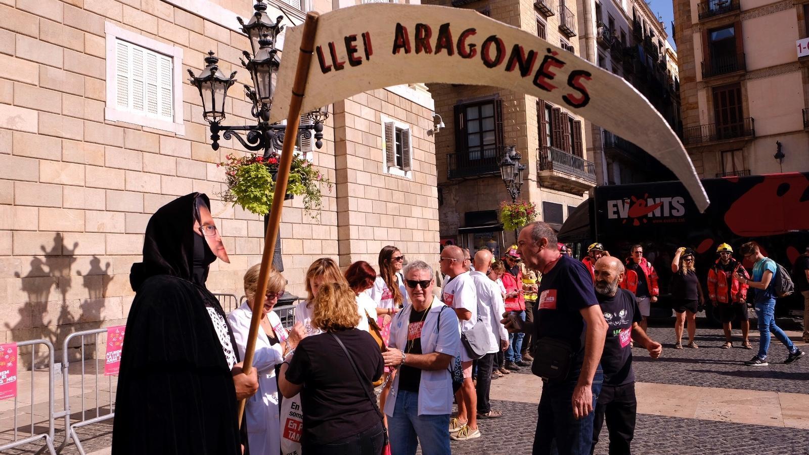 La nova plataforma contra la llei Aragonès anuncia mobilitzacions aquesta tardor