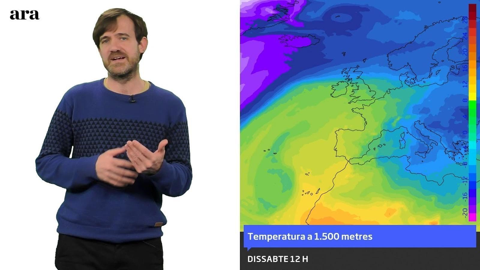 La méteo: poques pinzellades de fred els pròxims set dies