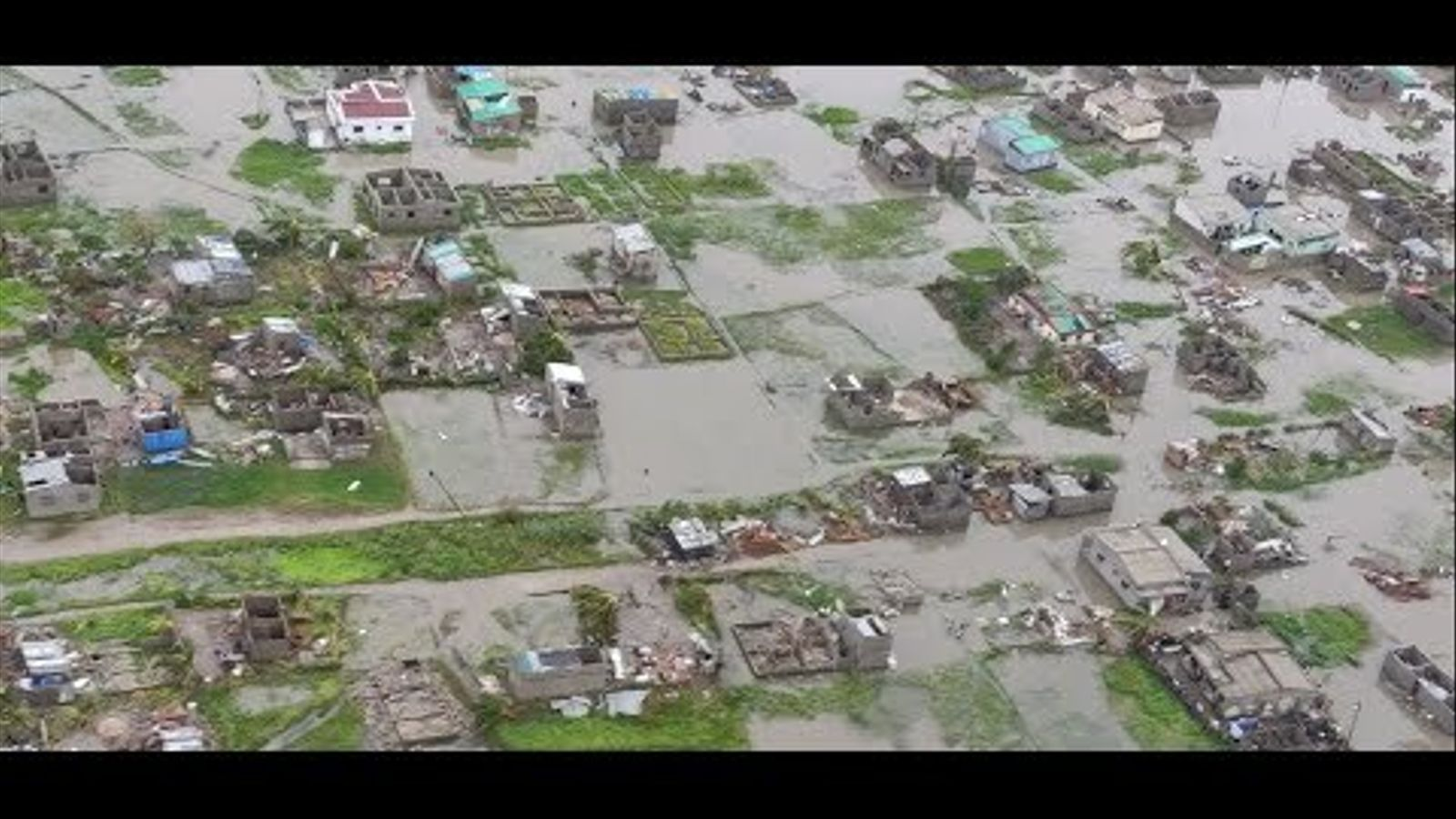 Inundacions a MOçambic arran del pas del cicló Ida