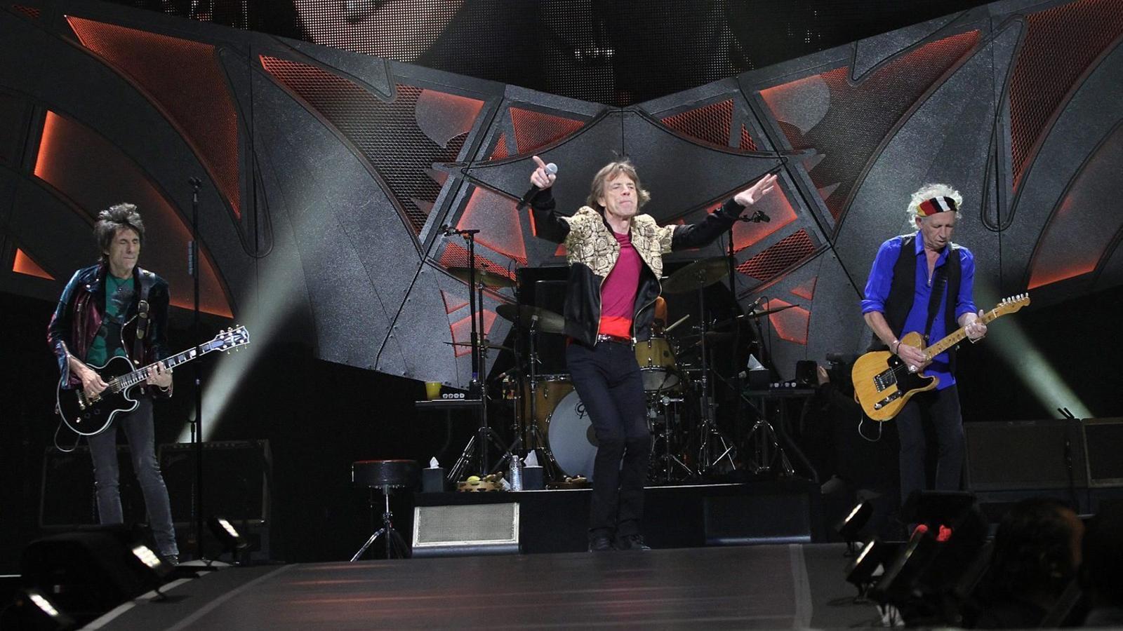 Els Rolling Stones  al concert del 23 d'octubre   A Las Vegas, Nevada.