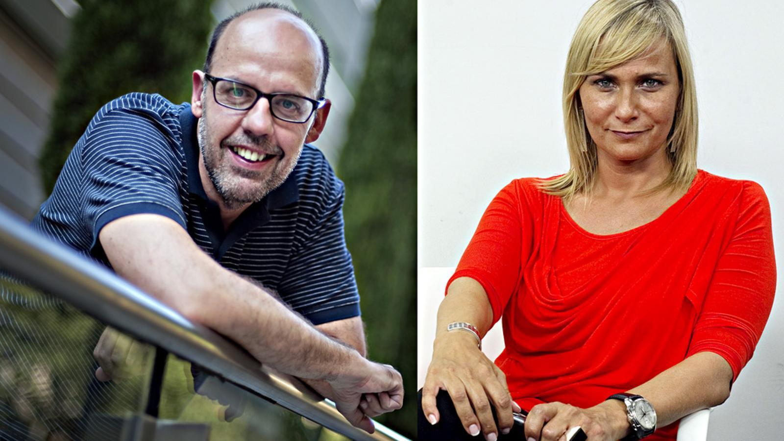 Jordi Basté i Mònica Terribas