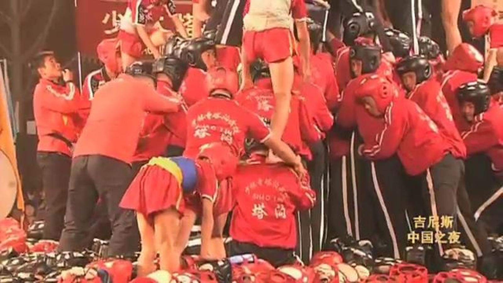 Intenten un 3 de 9 'suigeneris' per a una televisió xinesa