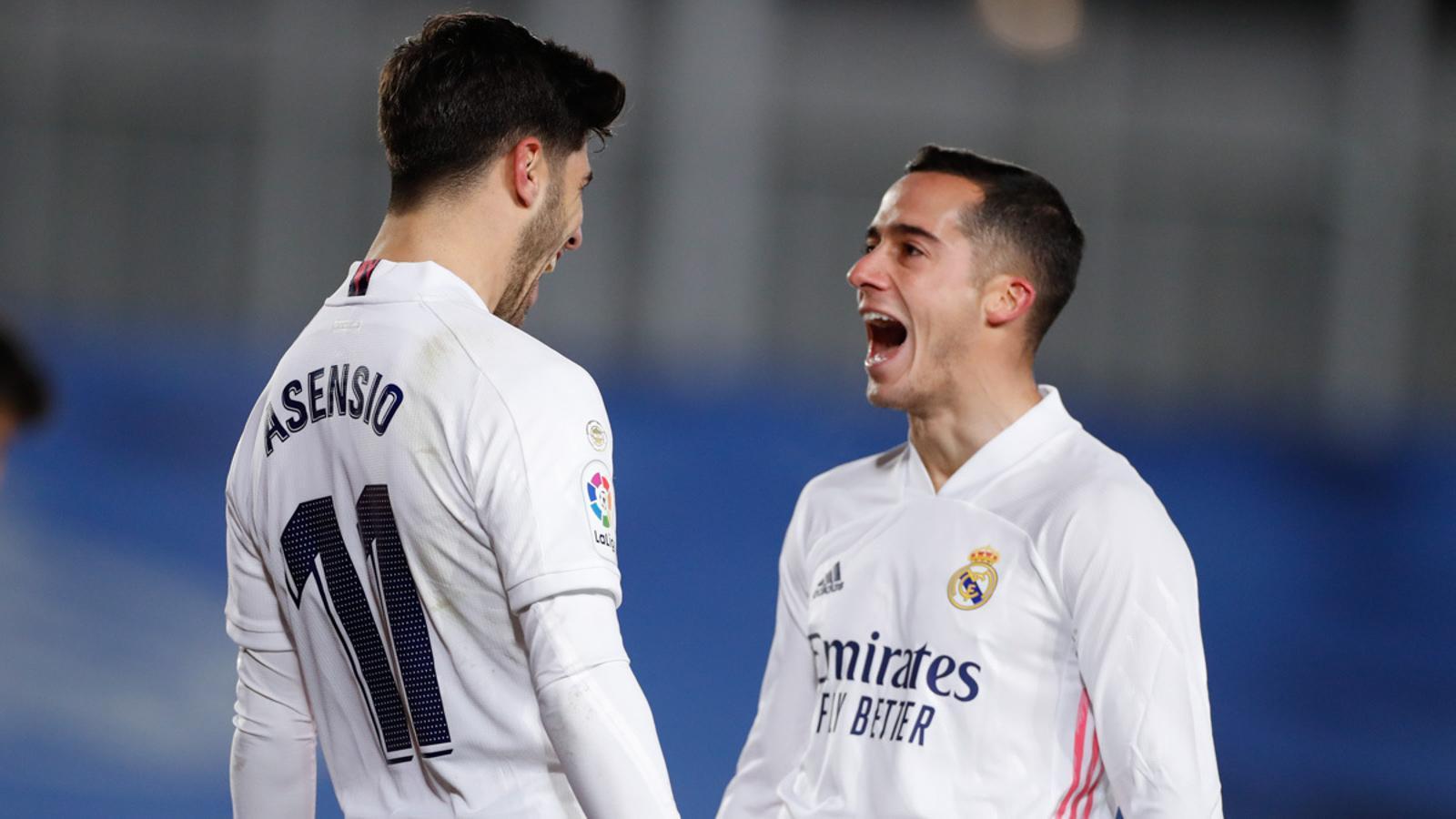 El Reial Madrid en té prou amb dos rampells per superar el Celta (2-0)