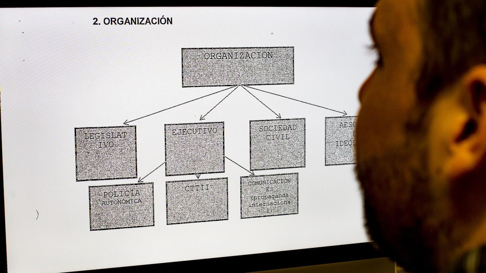 """Lamela veu una """"organització criminal"""" darrere de l'1-O"""