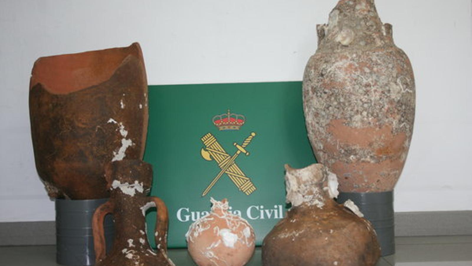Les àmfores romanes dataven dels segles I i II