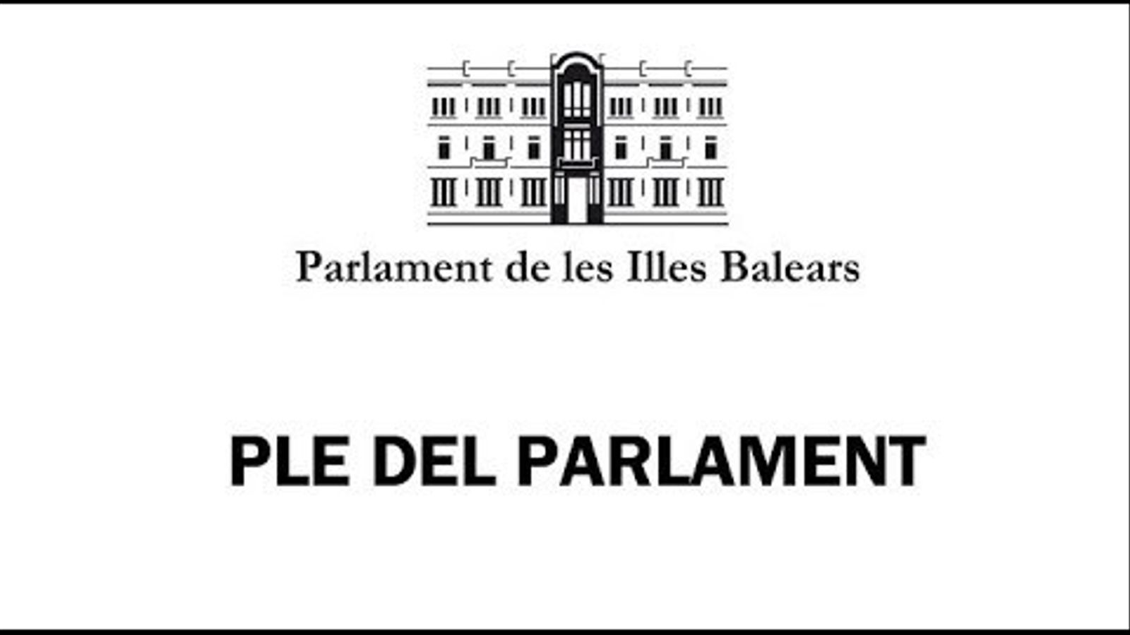 EN DIRECTE: El Parlament aturarà els peus a la proposta de rebaixa fiscal del PP