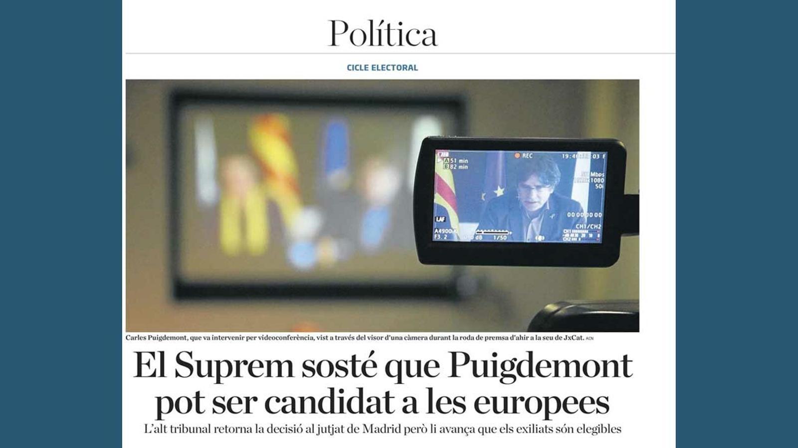 L'anàlisi d'Antoni Bassas: 'Només hi guanya Puigdemont?'