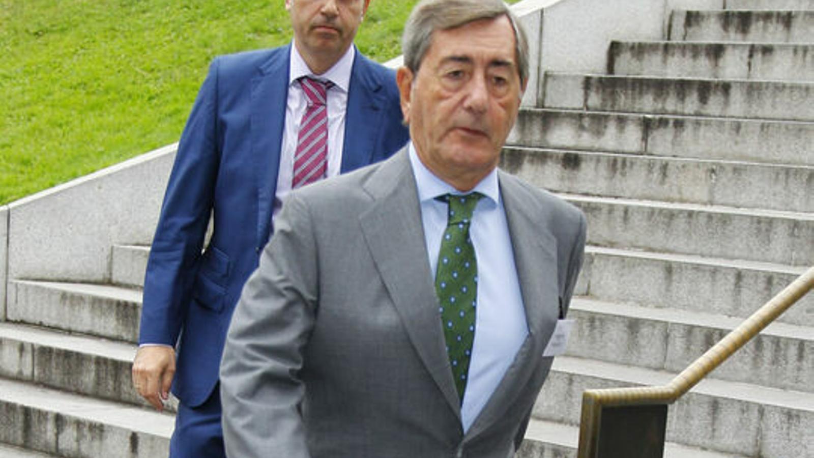 Alfonso Cortina, expresident de Repsol, en una imatge d'arixu.
