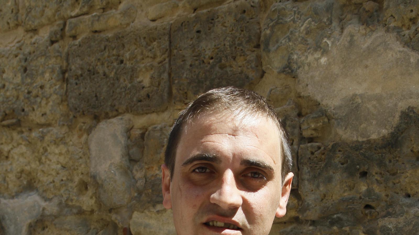 """El glosador Mateu Matas, """"Xurí"""", en imatge d'arxiu."""