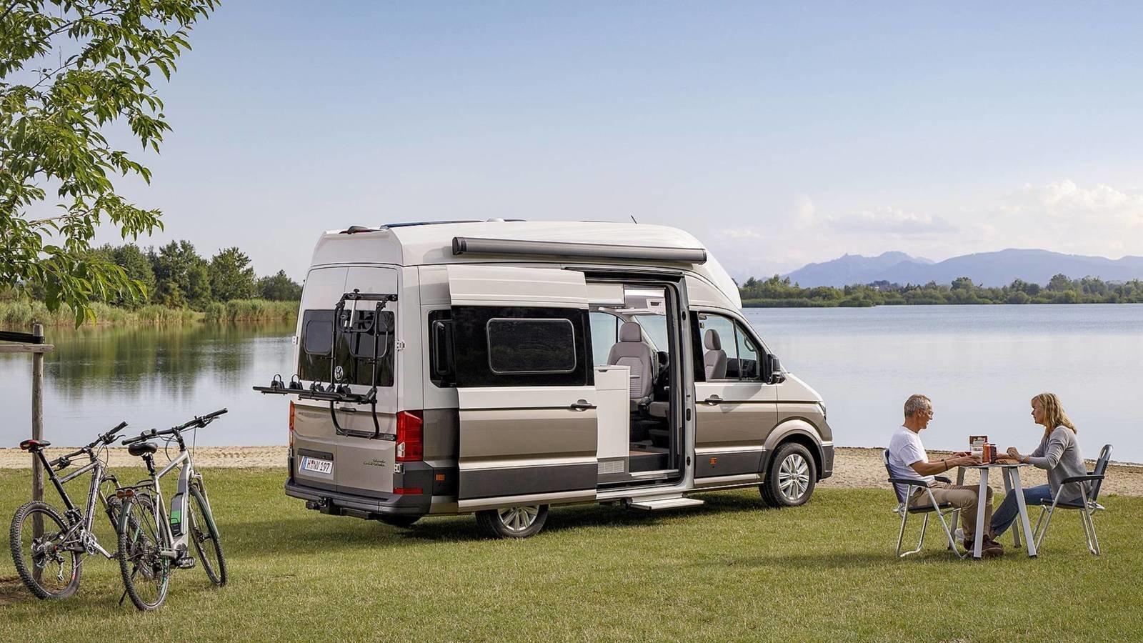 Volkswagen Grand Califòrnia, una caravana autosuficient