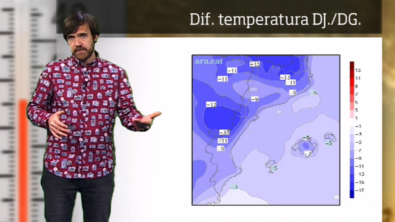 Méteo especial: onada de fred a partir del cap de setmana