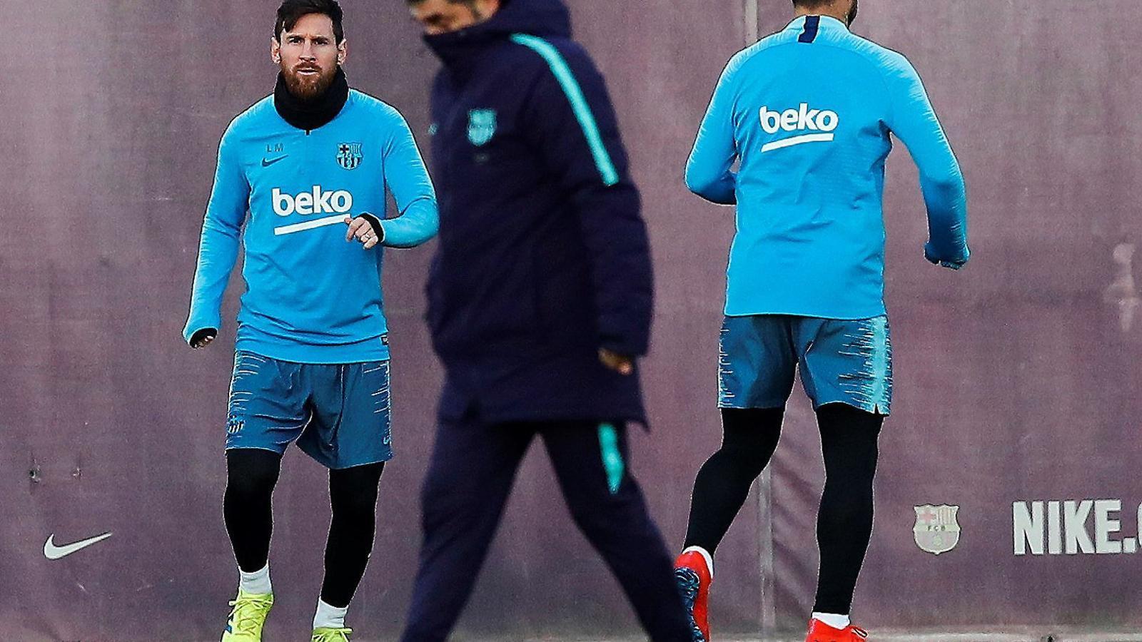 Leo Messi, davanter argentí del Barça Lassa.