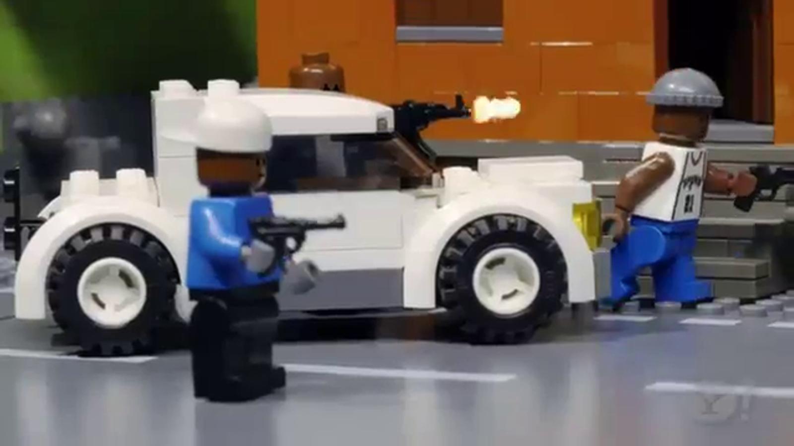 'The wire' en versió Lego