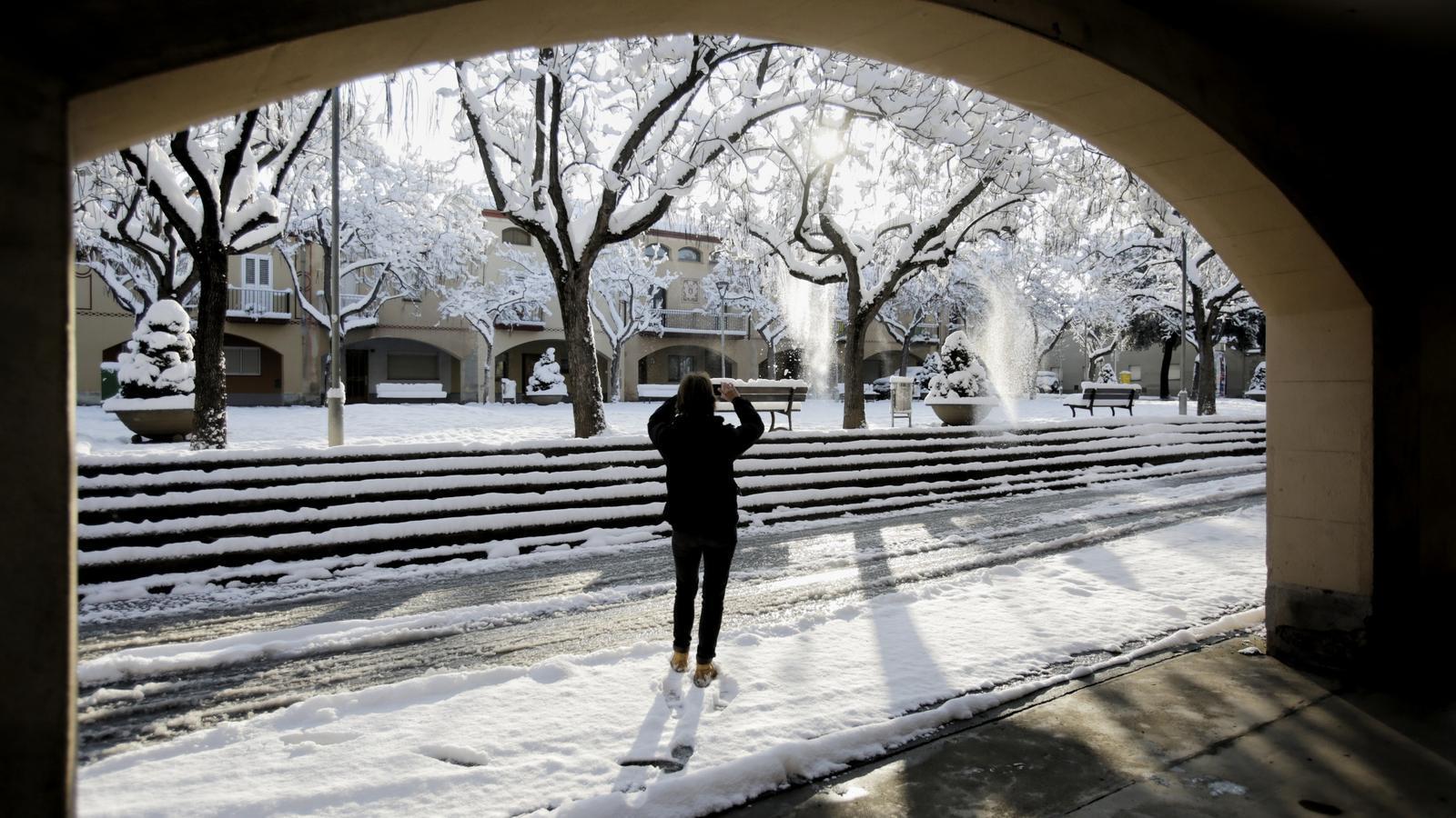 FOTOGALERIA: La nevada a Catalunya, en imatges