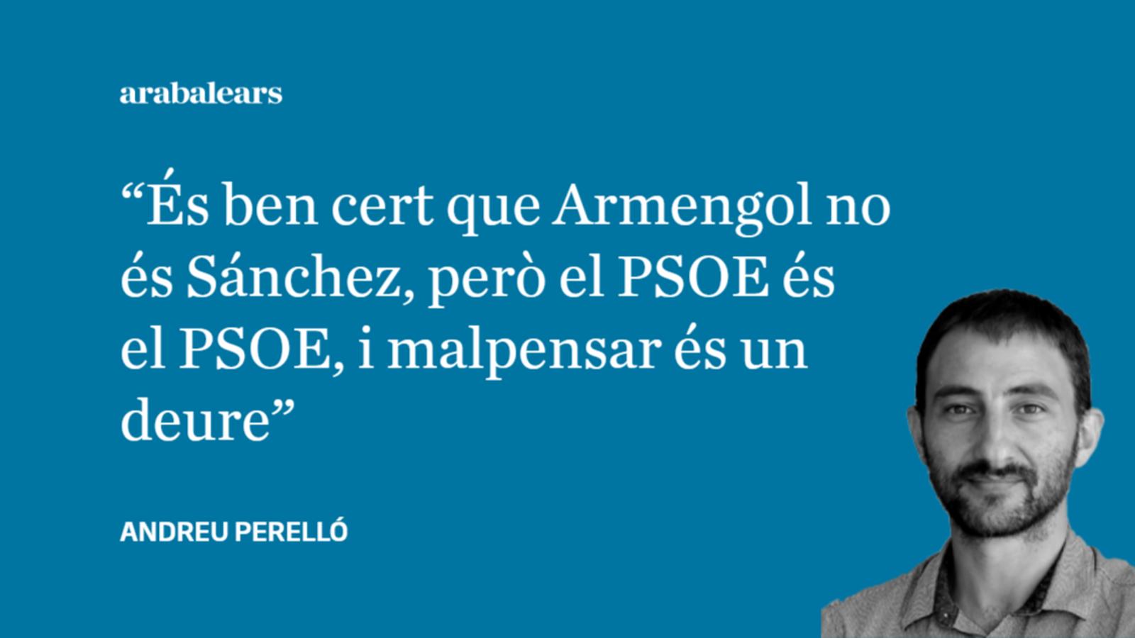 Armengol no és Sánchez