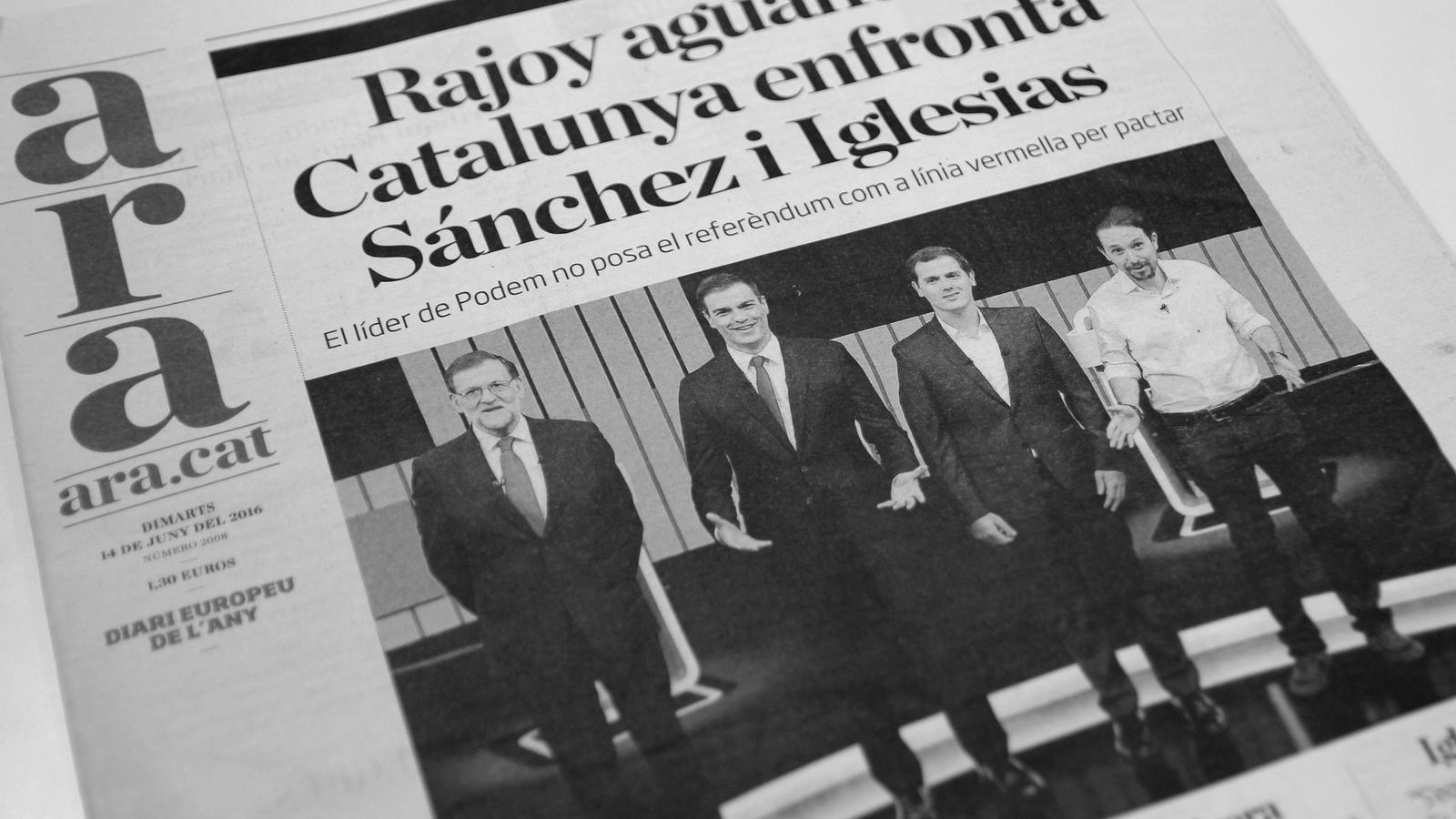 L'anàlisi d'Antoni Bassas: 'Iglesias: el referèndum ja no és condició'