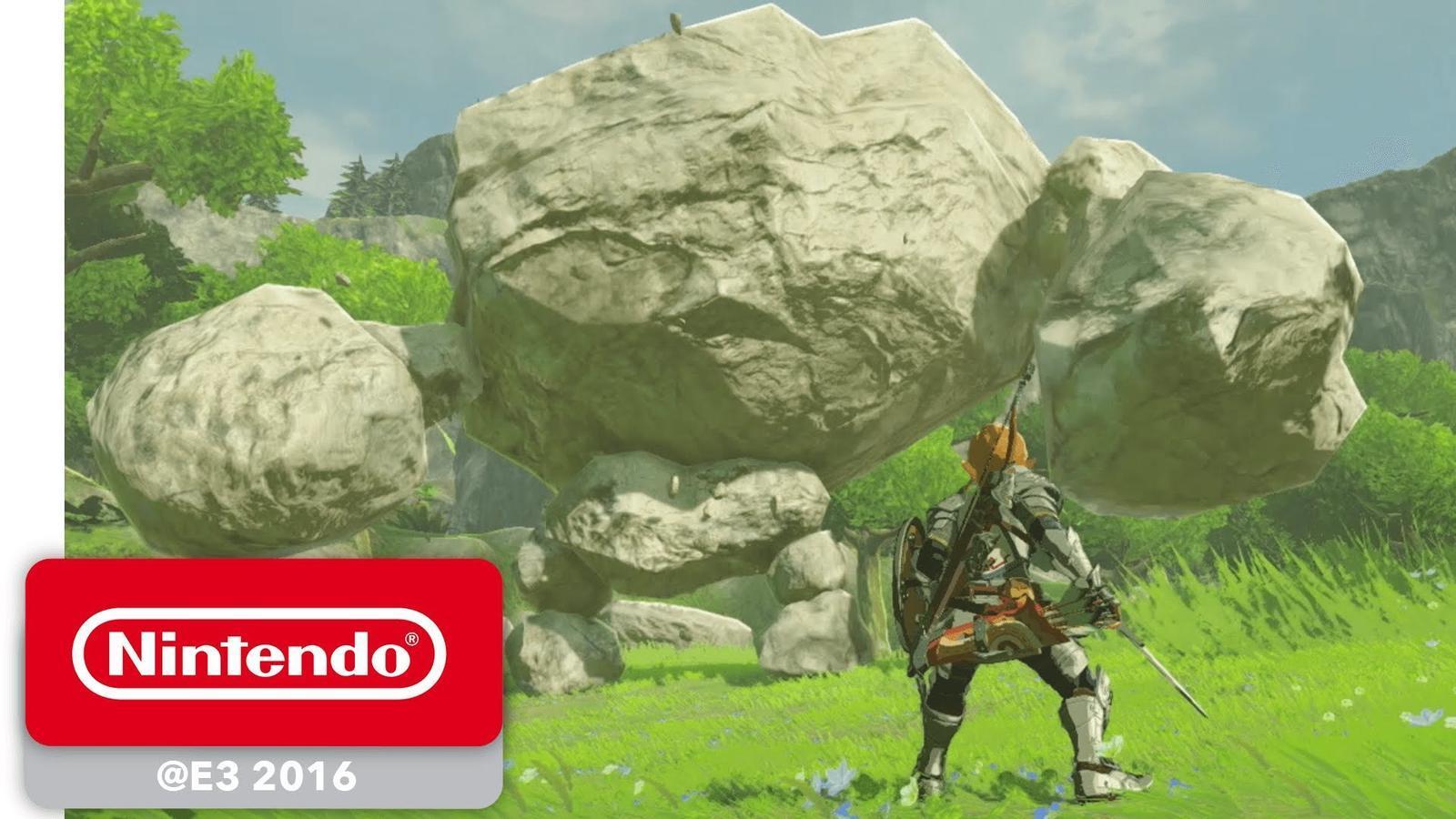 Tràiler de 'Legend of Zelda: breath of the wild'