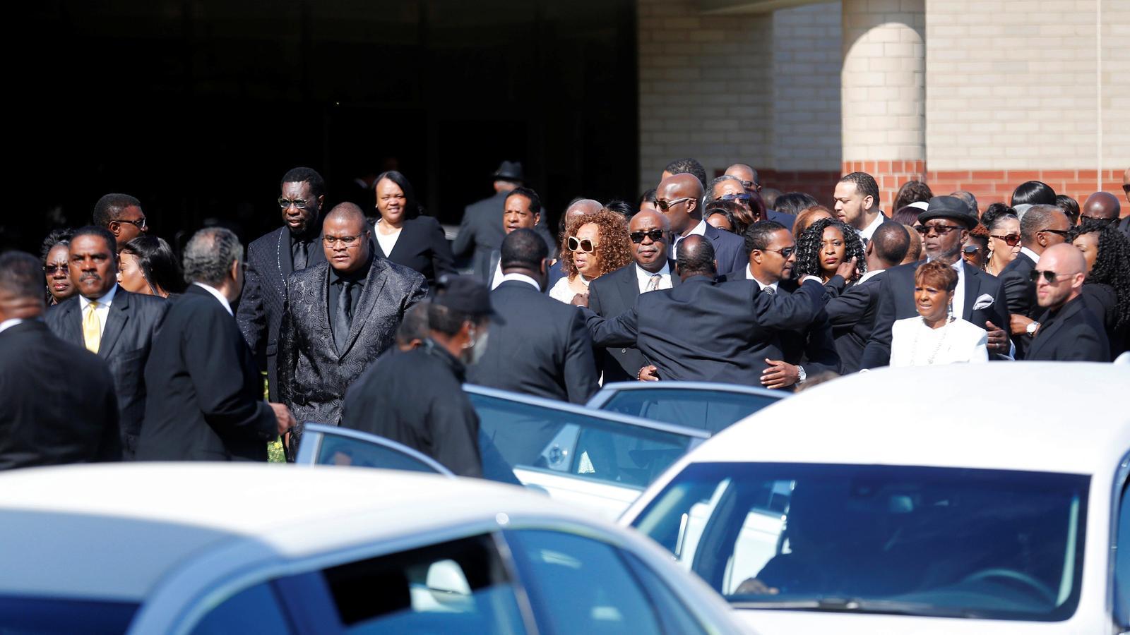 El funeral d'Aretha Franklin fa un homenatge a les seves arrels musicals