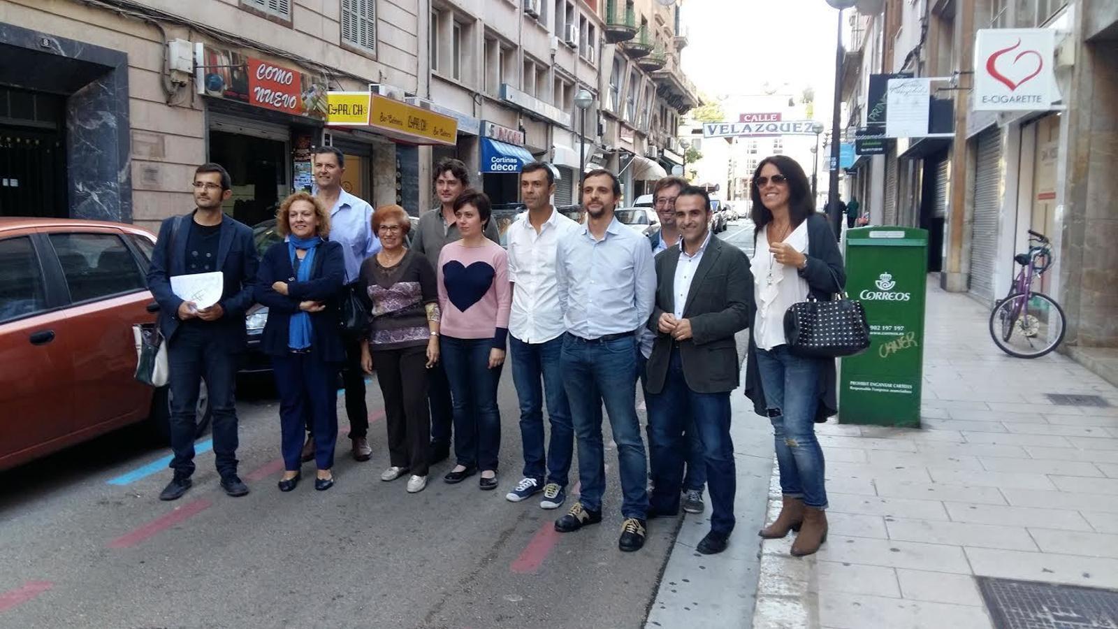 El carrer Velázquez de Palma serà per a vianants