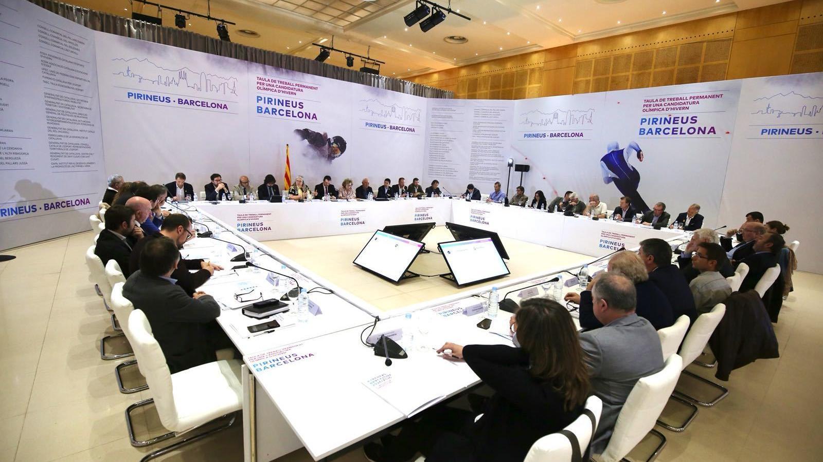 El COI farà oficial la candidatura Pirineus-Barcelona als Jocs d'hivern del 2026 aquest proper octubre