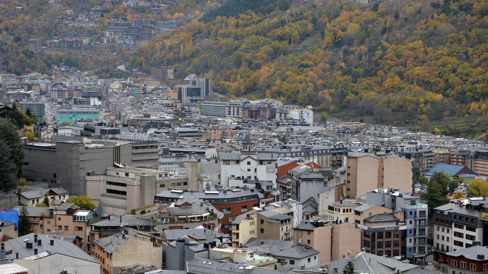 Les parròquies d'Andorra la Vella i Escaldes-Engordany. / ARXIU ANA