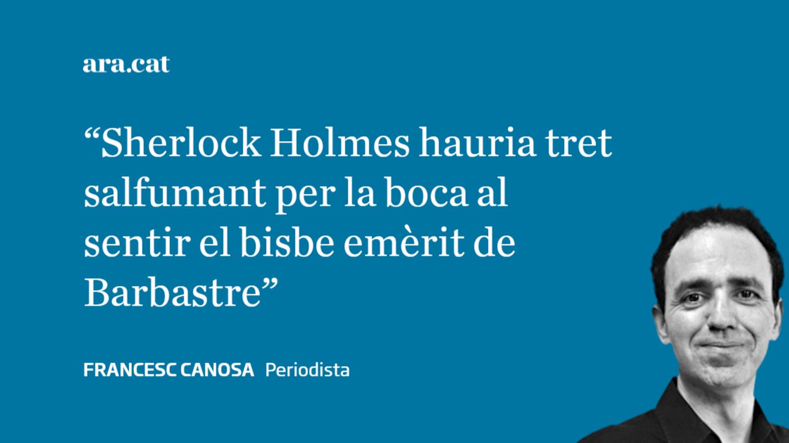 Sherlock Holmes al judici de l'art de la Franja