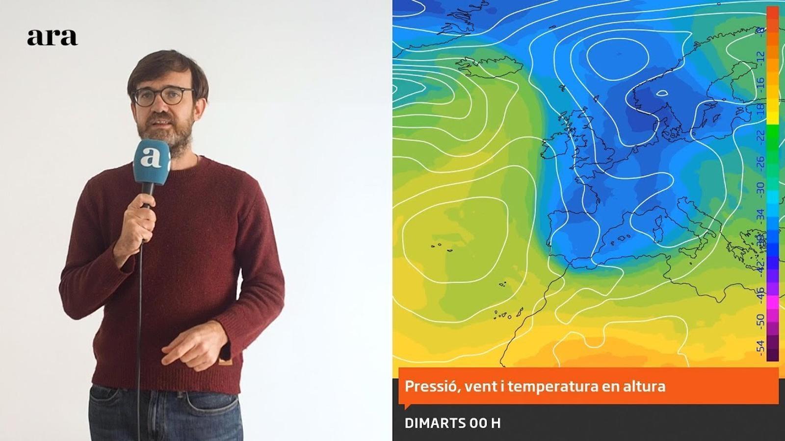 La méteo: el fred arriba per quedar-se