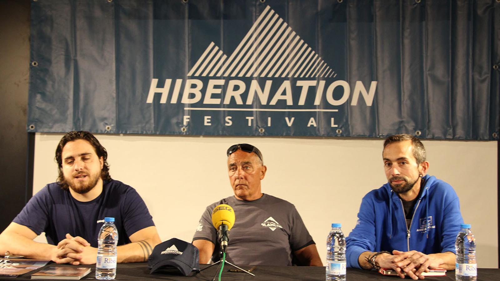 Un moment de la presentació de la tercera edició del festival Hibernation. / B. N.