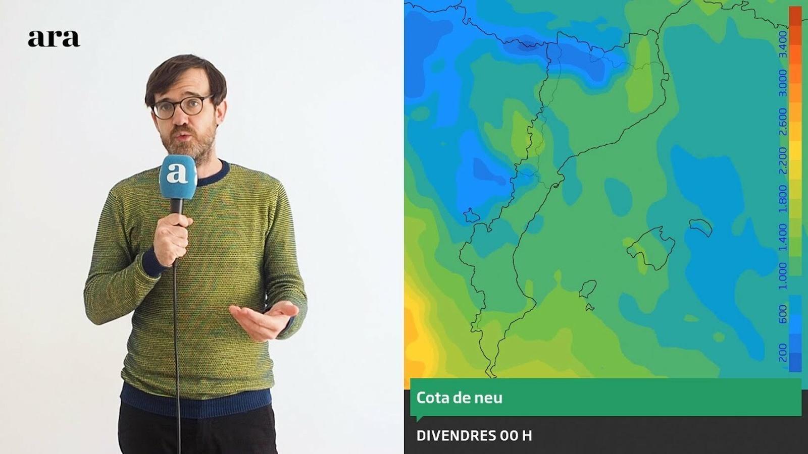 La méteo: neu fins als 400 metres i un ambient d'hivern que s'allargarà