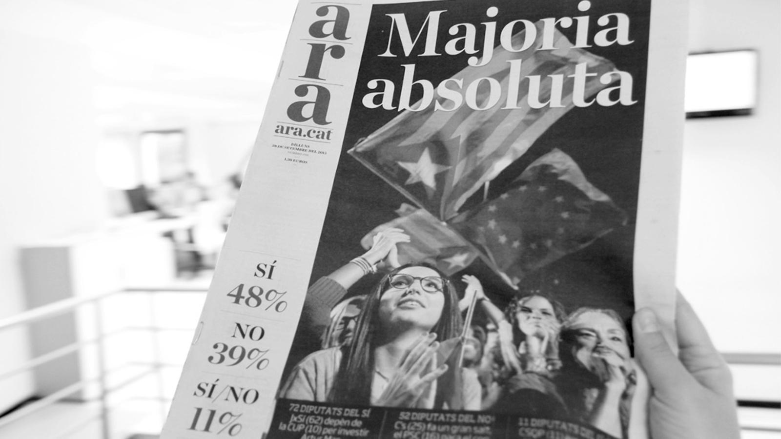L'editorial d'Antoni Bassas: Persistir i eixamplar (28/09/2015)