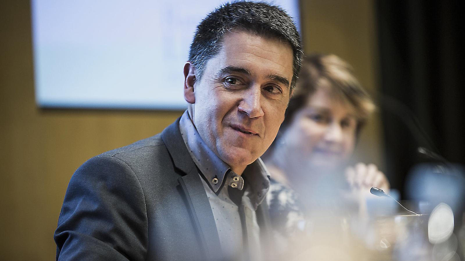El novel·lista i periodista Martí Gironell