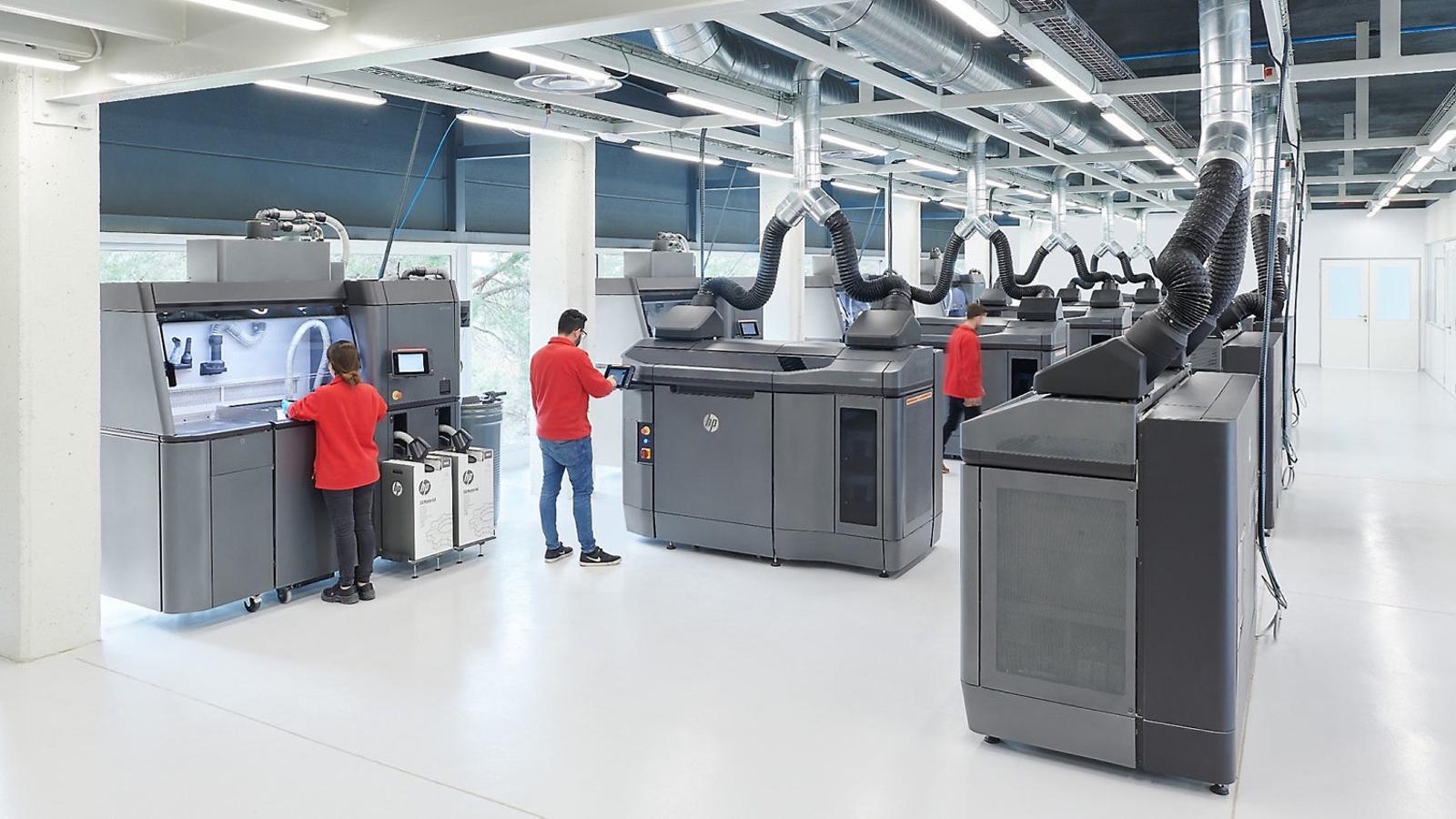 Un centre d'impressió en 3D