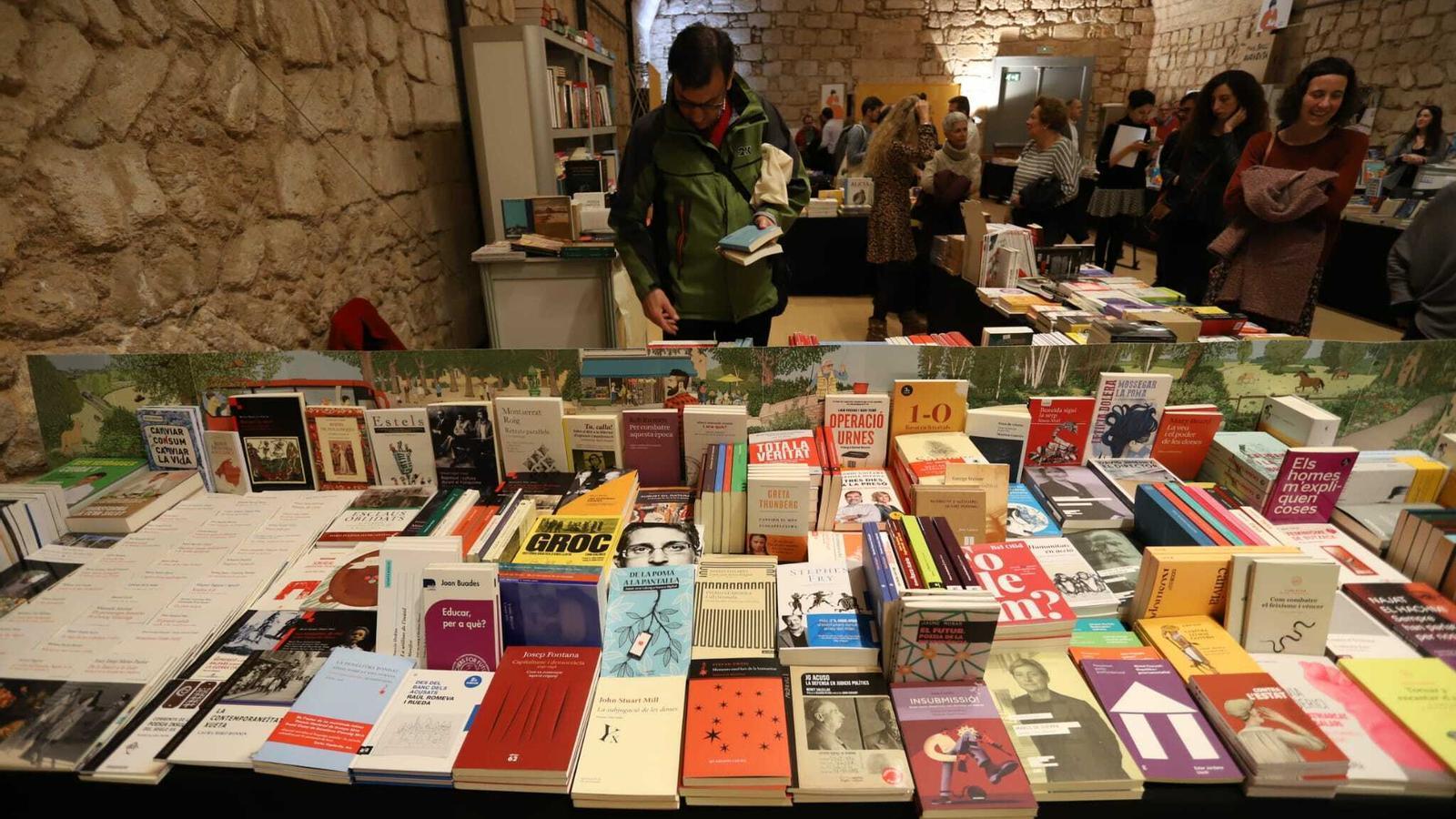 Imatge de la Setmana del Llibre en Català a l'Aljub d'Es Baluard