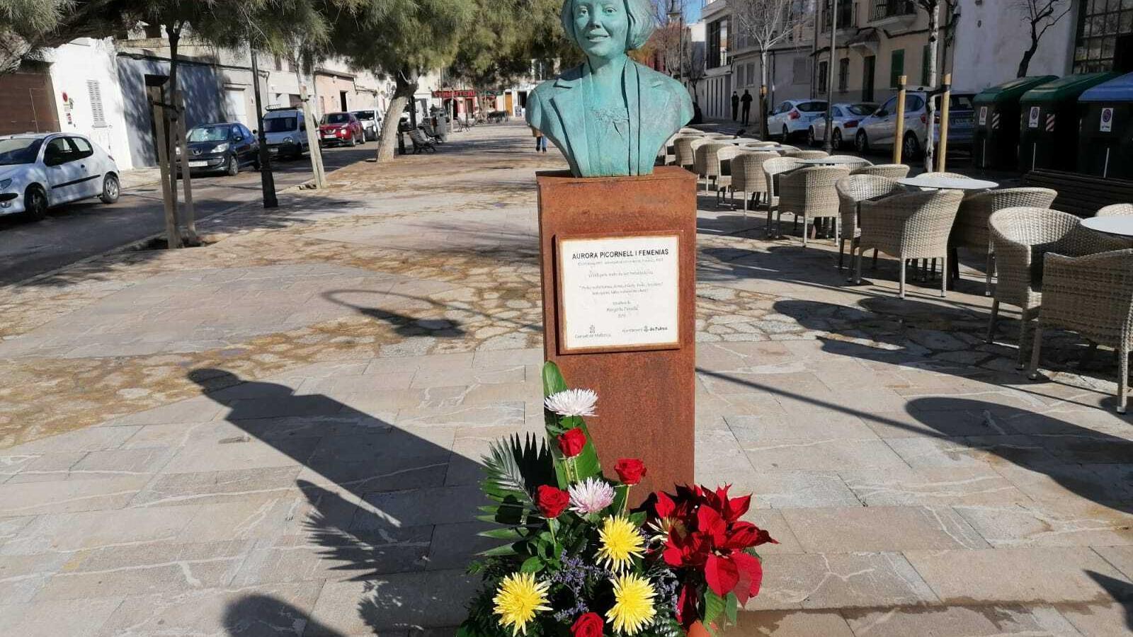 Bust d'Aurora Picornell al Molinar