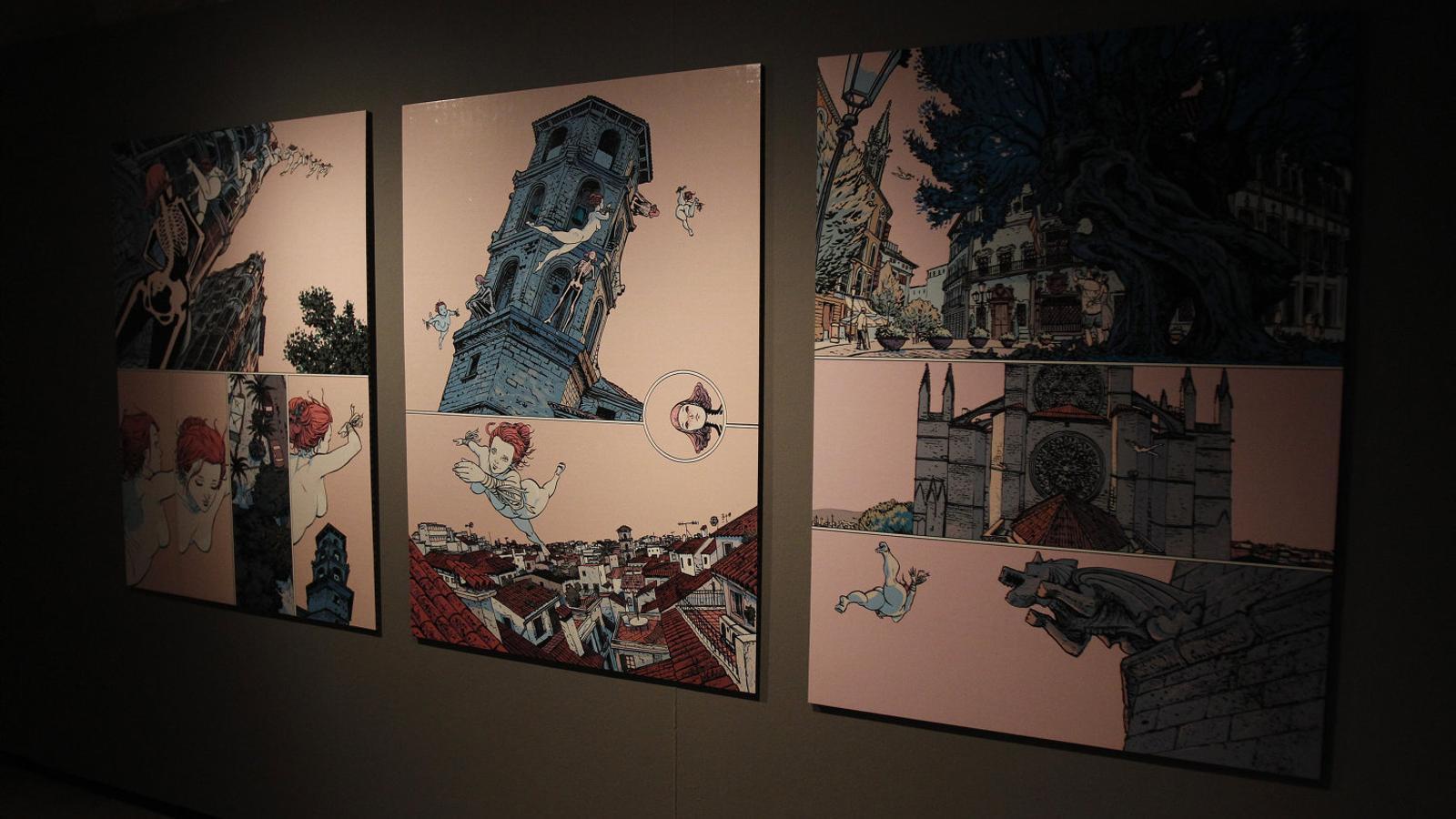 El Còmic Nostrum   Es passeja pels  Carrers de Palma