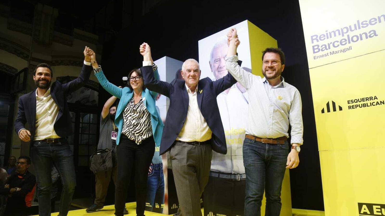 ERC guanyaria les eleccions catalanes amb JxCat recuperant terreny en segona posició