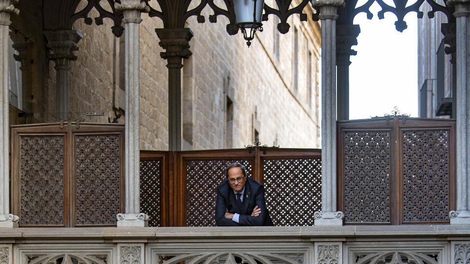 """Quim Torra: """"Tornar a Pedralbes vol dir també recuperar la figura del relator"""""""