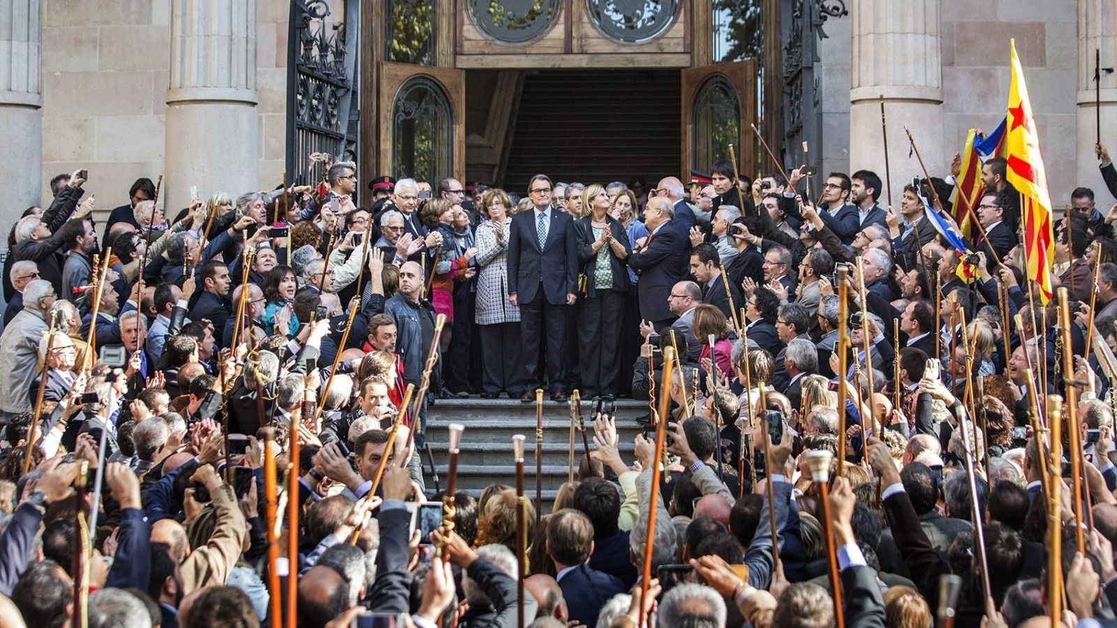 Artur Mas va declarar com a imputat davant el TSJC el 15 d'octubre passat.