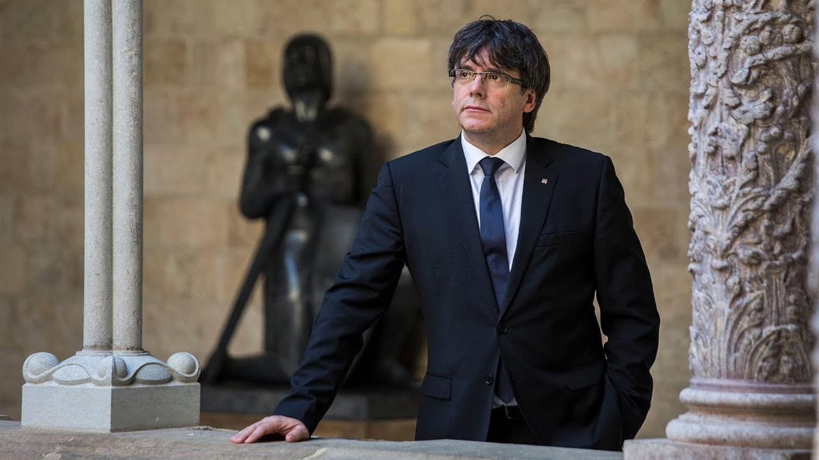 Carles Puigdemont: dos anys d'una presidència d'alt voltatge