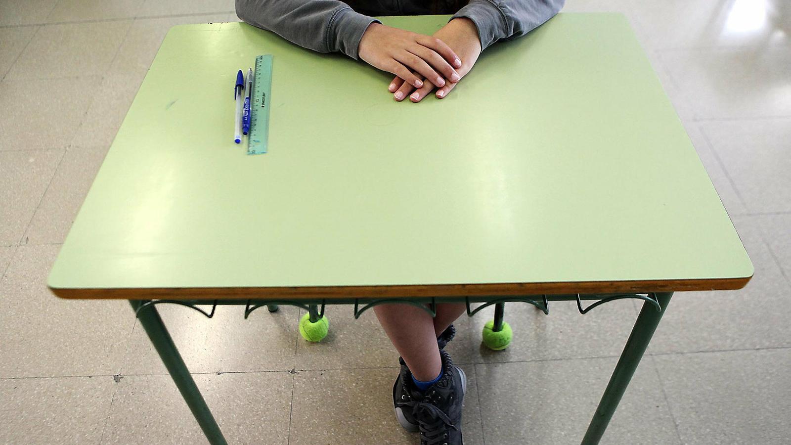 Educació afirma que la gravació feta  a una classe d'un institut de Palma és il·legal