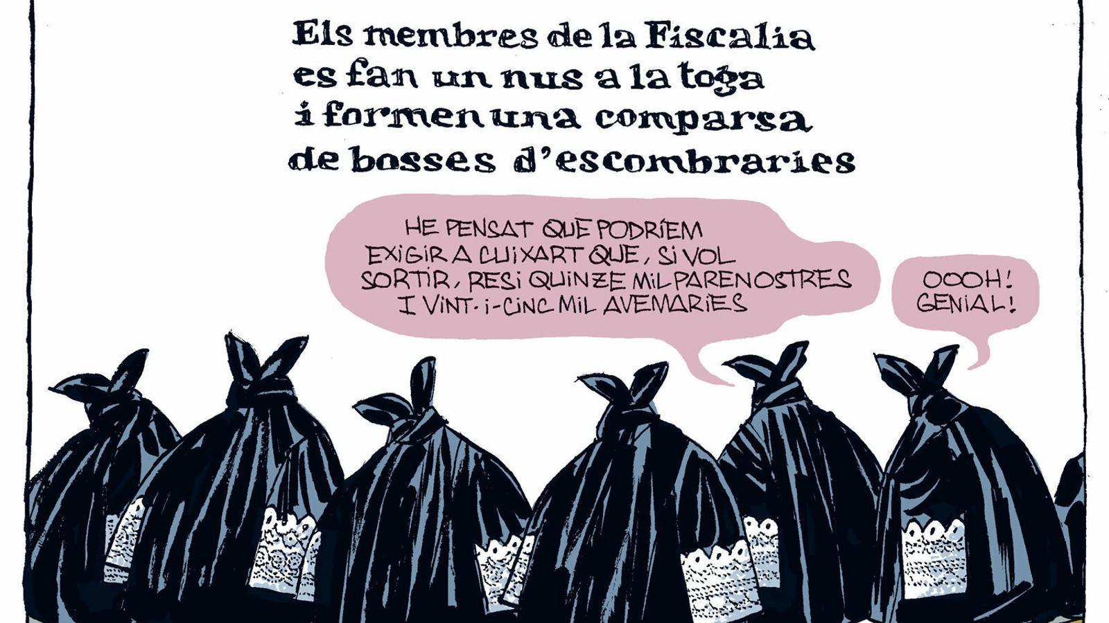 La vinyeta de Manel Fontdevila 23/02/2020