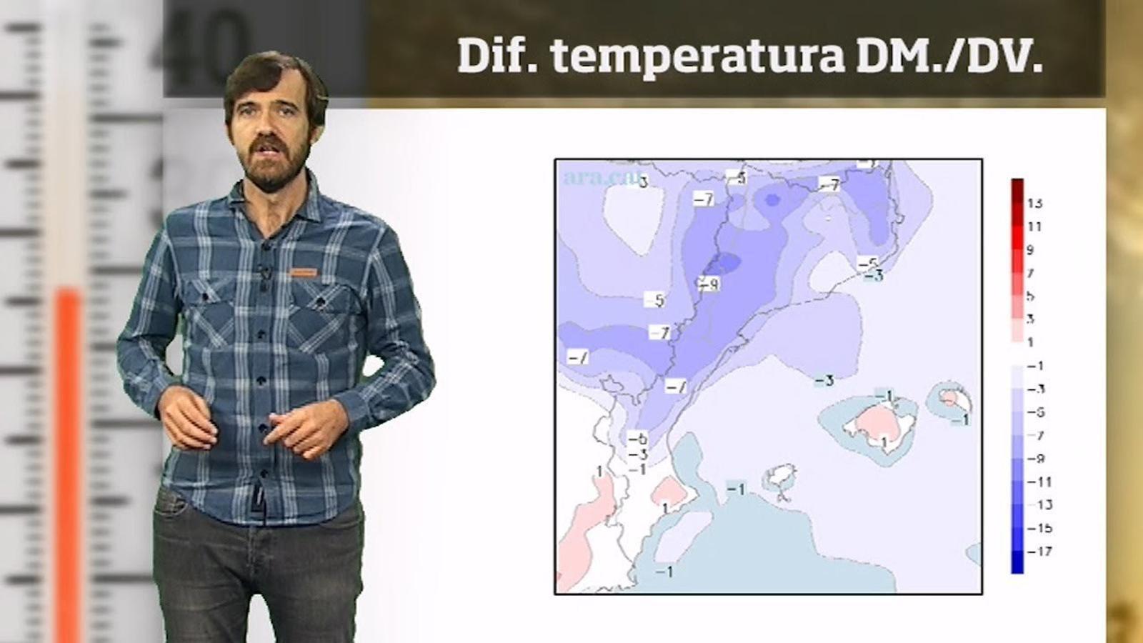 Méteo especial: Temperatures d'octubre o novembre al final de la setmana